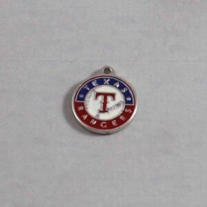 Texas Rangers Wedding Garter / MLB / Baseball - Charm-157 / Wedding Garters / Bridal Garter / Prom Garter / Linda Joyce Couture