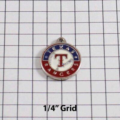 Texas Rangers Wedding Garter / MLB / Baseball - Charm 157 / Wedding Garters / Bridal Garter / Prom Garter / Linda Joyce Couture