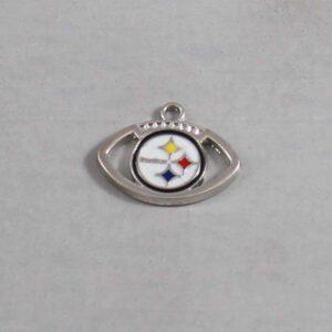 Pittsburgh Steelers Wedding Garter / NFL / Football - Charm-162 / Wedding Garters / Bridal Garter / Prom Garter / Linda Joyce Couture