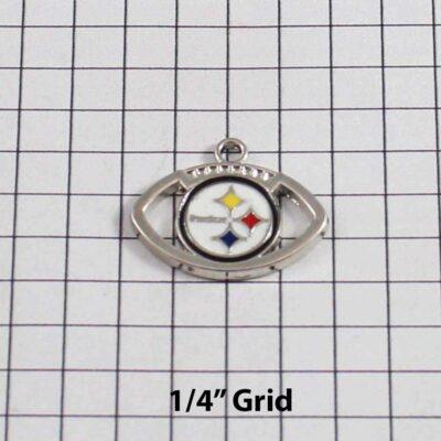 Pittsburgh Steelers Wedding Garter / NFL / Football - Charm 162 / Wedding Garters / Bridal Garter / Prom Garter / Linda Joyce Couture