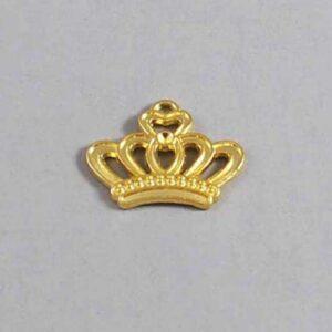Crown Wedding Garter / Gold / - Charm-170 / Wedding Garters / Bridal Garter / Prom Garter / Linda Joyce Couture