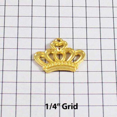 Crown Wedding Garter / Gold / - Charm 170 / Wedding Garters / Bridal Garter / Prom Garter / Linda Joyce Couture