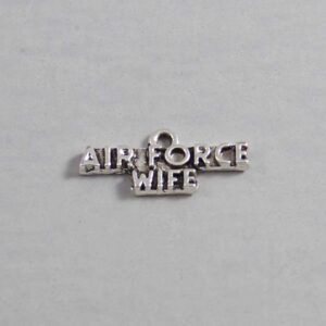 US Air Force Wedding Garter / Military - Charm-173 / Wedding Garters / Bridal Garter / Prom Garter / Linda Joyce Couture