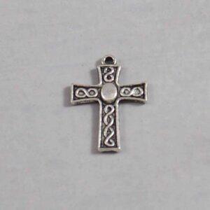 Spiritual and Religious Wedding Garter / Christian / Crucifix / Christianity / Cross / Jesus - Charm-178 / Wedding Garters / Bridal Garter / Prom Garter / Linda Joyce Couture