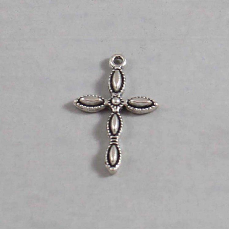 Spiritual and Religious Wedding Garter / Christian / Crucifix / Christianity / Cross / Jesus - Charm-236 / Wedding Garters / Bridal Garter / Prom Garter / Linda Joyce Couture