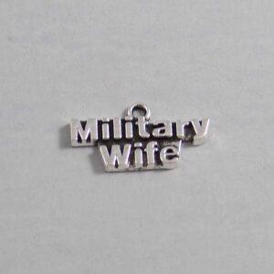 US Military Wedding Garter - Charm-248 / Wedding Garters / Bridal Garter / Prom Garter / Linda Joyce Couture