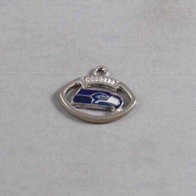 Seattle Seahawks Wedding Garter NFL - Charm 249 / Wedding Garters / Bridal Garter / Prom Garter / Linda Joyce Couture