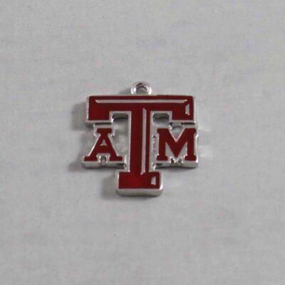 Texas A&M  Wedding Garter / University / Team / Collegiate / College / NCAA - Charm 254 / Wedding Garters / Bridal Garter / Prom Garter / Linda Joyce Couture