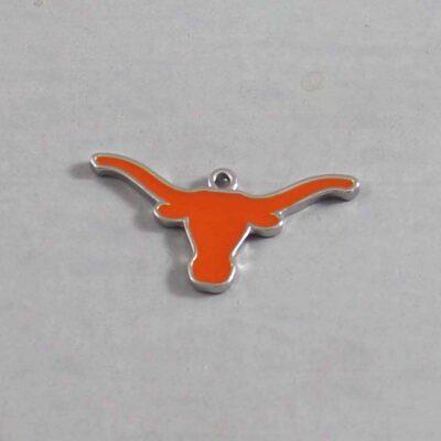 Texas Longhorns  Wedding Garter / University / Team / Collegiate / College / NCAA - Charm 255 / Wedding Garters / Bridal Garter / Prom Garter / Linda Joyce Couture