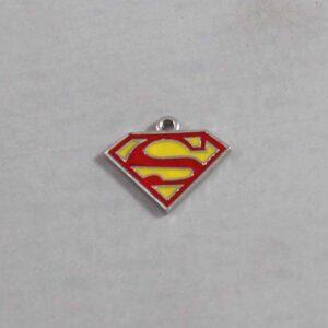 Superman Wedding Garter / DC Comics / Superhero - Charm-282 / Wedding Garters / Bridal Garter / Prom Garter / Linda Joyce Couture
