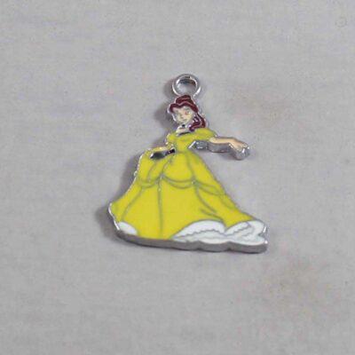Beauty and the Beast Wedding Garter / Belle / Fairy Tale - Charm 289 / Wedding Garters / Bridal Garter / Prom Garter / Linda Joyce Couture