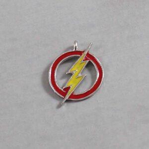 The Flash Wedding Garter / DC Comics / Superhero - Charm-291 / Wedding Garters / Bridal Garter / Prom Garter / Linda Joyce Couture