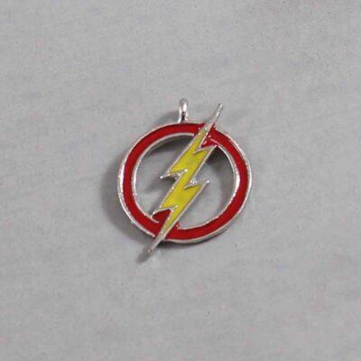 The Flash Wedding Garter / DC Comics / Superhero - Charm 291 / Wedding Garters / Bridal Garter / Prom Garter / Linda Joyce Couture