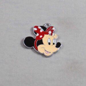 Minnie Mouse Wedding Garter / Disney / Cartoon - Charm-314 / Wedding Garters / Bridal Garter / Prom Garter / Linda Joyce Couture