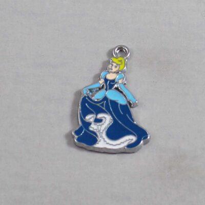 Cinderella Wedding Garter / Fairy Tale - Charm 315 / Wedding Garters / Bridal Garter / Prom Garter / Linda Joyce Couture