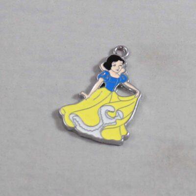 Snow White Wedding Garter / Disney / Princess / Fairy Tale - Charm 325 / Wedding Garters / Bridal Garter / Prom Garter / Linda Joyce Couture