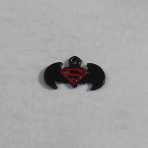 Batman vs Superman Wedding Garter / DC Comics / Superhero - Charm-343 / Wedding Garters / Bridal Garter / Prom Garter / Linda Joyce Couture