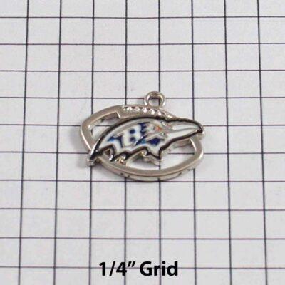 Baltimore Ravens Wedding Garter / NFL / Football - Charm 361 / Wedding Garters / Bridal Garter / Prom Garter / Linda Joyce Couture