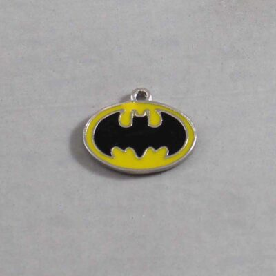 Batman Wedding Garter / DC Comics / Superhero - Charm 363 / Wedding Garters / Bridal Garter / Prom Garter / Linda Joyce Couture