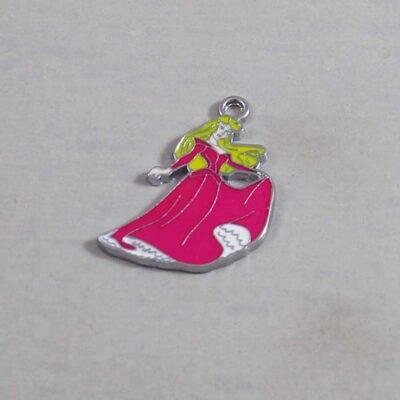 Sleeping Beauty Wedding Garter / Superhero - Charm 375 / Wedding Garters / Bridal Garter / Prom Garter / Linda Joyce Couture