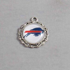 Buffalo Bills Wedding Garter / NFL / Football - Charm-377 / Wedding Garters / Bridal Garter / Prom Garter / Linda Joyce Couture
