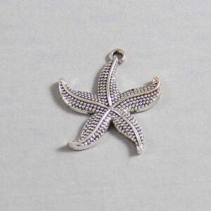 Nautical Wedding Garter / Starfish / Beach Wedding Garter / Under the Sea Wedding / Marine Life / Ocean  / Sailor / Seaman - Charm-393 / Wedding Garters / Bridal Garter / Prom Garter / Linda Joyce Couture