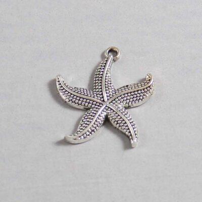 Nautical Wedding Garter / Starfish / Beach Wedding Garter / Under the Sea Wedding / Marine Life / Ocean  / Sailor / Seaman - Charm 393 / Wedding Garters / Bridal Garter / Prom Garter / Linda Joyce Couture