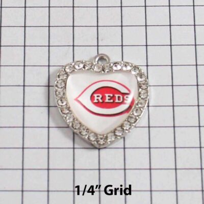 Cincinnati Reds Wedding Garter / MLB / Baseball - Charm 426 / Wedding Garters / Bridal Garter / Prom Garter / Linda Joyce Couture