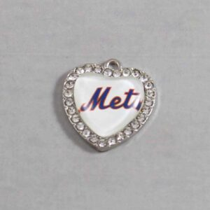 New York Mets Wedding Garter / MLB / Baseball - Charm-488 / Wedding Garters / Bridal Garter / Prom Garter / Linda Joyce Couture