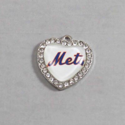 New York Mets Wedding Garter / MLB / Baseball - Charm 488 / Wedding Garters / Bridal Garter / Prom Garter / Linda Joyce Couture