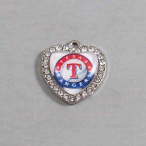 Texas Rangers Wedding Garter / MLB / Baseball - Charm-490 / Wedding Garters / Bridal Garter / Prom Garter / Linda Joyce Couture