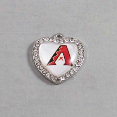Arizona Diamondbacks Wedding Garter / MLB / Baseball - Charm 494 / Wedding Garters / Bridal Garter / Prom Garter / Linda Joyce Couture