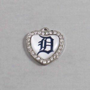 Detroit Tigers Wedding Garter / MLB / Baseball - Charm-495 / Wedding Garters / Bridal Garter / Prom Garter / Linda Joyce Couture