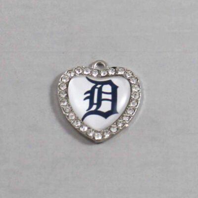 Detroit Tigers Wedding Garter / MLB / Baseball - Charm 495 / Wedding Garters / Bridal Garter / Prom Garter / Linda Joyce Couture