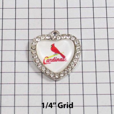 St Louis Cardinals Wedding Garter / MLB / Baseball - Charm 496 / Wedding Garters / Bridal Garter / Prom Garter / Linda Joyce Couture