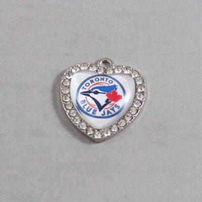 Toronto Blue Jays Wedding Garter / MLB / Baseball - Charm 498 / Wedding Garters / Bridal Garter / Prom Garter / Linda Joyce Couture