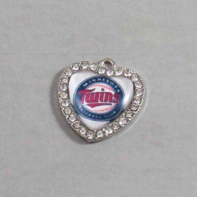 Minnesota Twins Wedding Garter / MLB / Baseball - Charm 501 / Wedding Garters / Bridal Garter / Prom Garter / Linda Joyce Couture