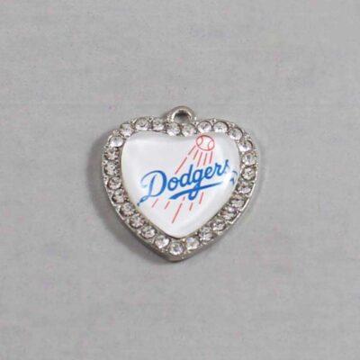 Los Angeles Dodgers Wedding Garter / MLB / Baseball - Charm 504 / Wedding Garters / Bridal Garter / Prom Garter / Linda Joyce Couture