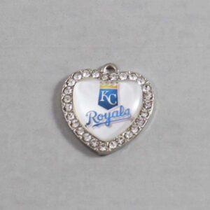 Kansas City Royals Wedding Garter / MLB / Baseball - Charm-508 / Wedding Garters / Bridal Garter / Prom Garter / Linda Joyce Couture