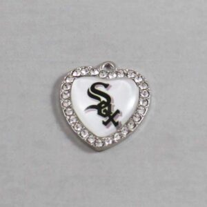 Chicago White Sox Wedding Garter / MLB / Baseball - Charm-511 / Wedding Garters / Bridal Garter / Prom Garter / Linda Joyce Couture