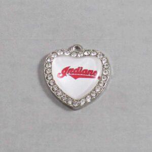 Cleveland Indians Wedding Garter / MLB / Baseball - Charm-513 / Wedding Garters / Bridal Garter / Prom Garter / Linda Joyce Couture