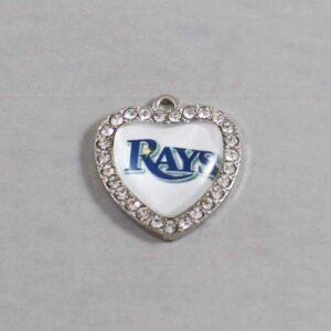 Tampa Bay Devil Rays Wedding Garter MLB - Charm-515 / Wedding Garters / Bridal Garter / Prom Garter / Linda Joyce Couture