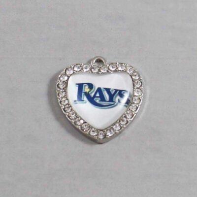 Tampa Bay Devil Rays Wedding Garter MLB - Charm 515 / Wedding Garters / Bridal Garter / Prom Garter / Linda Joyce Couture