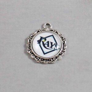 Tampa Bay Devil Rays Wedding Garter / MLB / Baseball - Charm-522 / Wedding Garters / Bridal Garter / Prom Garter / Linda Joyce Couture
