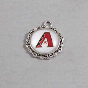 Arizona Diamondbacks Wedding Garter / MLB / Baseball - Charm-535 / Wedding Garters / Bridal Garter / Prom Garter / Linda Joyce Couture