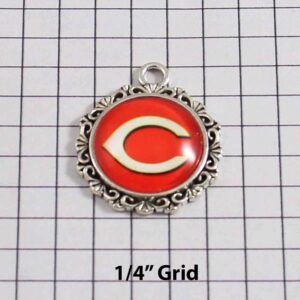 Chicago Bears Wedding Garter / NFL / Football - Charm-548 / Wedding Garters / Bridal Garter / Prom Garter / Linda Joyce Couture