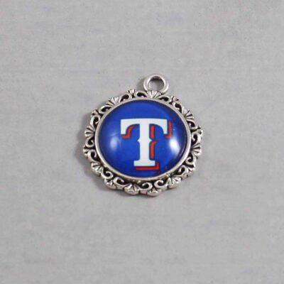 Texas Rangers Wedding Garter / MLB / Baseball - Charm 557 / Wedding Garters / Bridal Garter / Prom Garter / Linda Joyce Couture