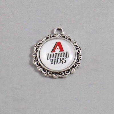 Arizona Diamondbacks Wedding Garter / MLB / Baseball - Charm 575 / Wedding Garters / Bridal Garter / Prom Garter / Linda Joyce Couture