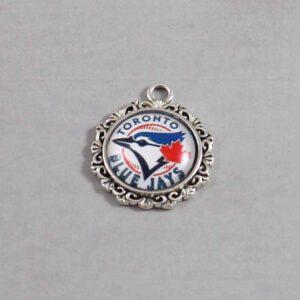 Toronto Blue Jays Wedding Garter / MLB / Baseball - Charm-578 / Wedding Garters / Bridal Garter / Prom Garter / Linda Joyce Couture