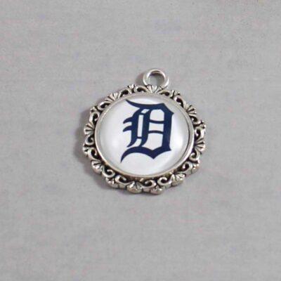 Detroit Tigers Wedding Garter / MLB / Baseball - Charm 581 / Wedding Garters / Bridal Garter / Prom Garter / Linda Joyce Couture